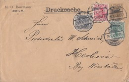 DR Privat-GS-Umschlag Minr.PU24 Zfr. Minr.83I,85I,86I Aue 29.3.12 - Deutschland
