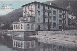 Cartolina :  Fasano Brescia  (Italie) Lago Di Garda    Hotel Bella Riva  1925  Rara  Ed Locatelli - Autres Villes