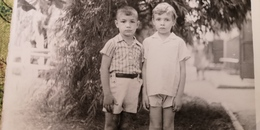 Old Original Photo  - Soviet Childhood - Little Boy 1970s - Personnes Anonymes