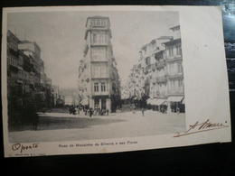 Portugal PORTO Ruas Do Mousinho Faults Below-used 1904 - Porto