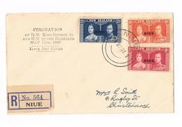 Nuova Zelanda - New Zeland - FDC - Incoronazione Re Giorgio VI - 12.05.1937 - FDC