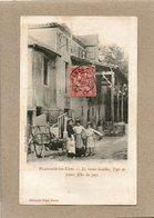 CPA - PLAISANCE-du-GERS (32) - Aspect Des Jeunes Filles Du Pays Devant Le Vieux Moulin En 1903. - Francia