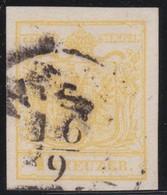 Oostenrijk    .     Yvert  1     .        O            .          Gebruikt   .   /  .     Gebraucht - 1850-1918 Keizerrijk