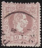 Oostenrijk    .     Yvert  39     .        O            .          Gebruikt   .   /  .     Gebraucht - 1850-1918 Keizerrijk