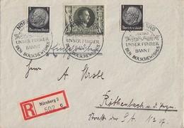 DR Brief Mif Minr.2x 512,849 SST Nürnberg - Briefe U. Dokumente