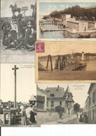 LOT DE 10 CPA DE FRANCE - Cartes Postales
