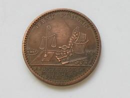 Médaille Ajusteurs De La Monnaie De Paris 1767 - DANT PONDUS   **** EN ACHAT IMMEDIAT  **** - France