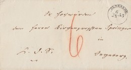 Brief Oldesloe 6.12.1855 Mit Siegel - Schleswig-Holstein