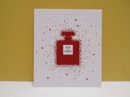 NEW!!!! CARTE PARFUMEE N°5 L'EAU De CHANEL  ROUGE - Cartes Parfumées