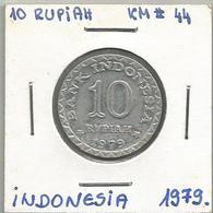 C7 Indonesia 10 Rupiah 1979. - Indonésie