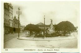 BRASIL Pernambuco, Estatua De Joaquim Nabuco; Brazil - Recife