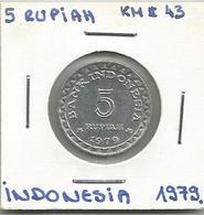 C7 Indonesia 5 Rupiah 1979. - Indonésie