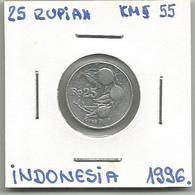 C8 Indonesia 25 Rupiah 1996. - Indonésie