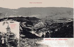 BESKIDEN -Schlesien, Blick In Das Bistraythal, Touristenhaus Auf Der Kemnitzer-Platte, Bielitz, Bielsko Biala, 15.8.1907 - Polen