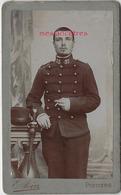 CDV CHAUVREAU à Thouarcé Mentionné Au Dos-vers 1880, Soldat Du 33e R Photographe Join à Niort Ex Travaux Génie Lille - War, Military