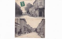 LES AIX D'ANGILLON  -  LOT DE  CARTES - Les Aix-d'Angillon