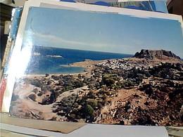 GRECE RODI RODHOS  LINDOS STAMP SELO TIMBRE  1AP NAVE SHIP 1971 GX5579 - Grecia