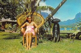 Polynésie Française  La Reine De Beauté Pao Pao MOOREA (Hotel AIMEO)   (Sincere Photo Giau 31 Tahiti) BV *PRIX FIXE - Polynésie Française