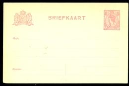BRIEFKAART 1899 VOORDRUK 5 Ct Nvph Nr 60 Ongebruikt  (11.456) - Postal Stationery