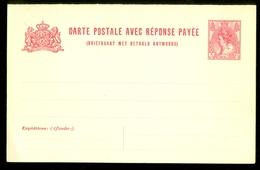 2x BRIEFKAART 1899 VOORDRUK 5 Ct Nvph Nr 60 Ongebruikt Met Antwoord  (11.456b) - Postal Stationery