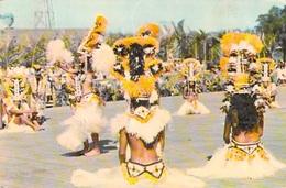 Polynésie Française Tamure Exécutée Par Le Groupe HEIVA Juillet 1970 (danse (Sincere Photo Giau 35  Tahiti) BV*PRIX FIXE - Polynésie Française