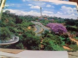 SUD AFRICA JOHANNESBURG SKYLINE STAMP SELO TIMBRE 0,25 C FLOWERS City Hall 10 C GX5584 - Sud Africa
