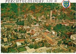 CPM AUTRICHE BASSE-AUTRICHE PERCHTOLDSDORF - Vue Aérienne Du Centre Historique - Perchtoldsdorf