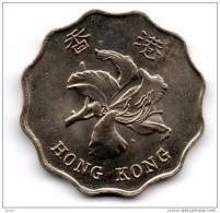 Hong Kong 2 Dollar 1997 Et 1998 Pièces Ayant Peu Circulé (2 Piéces) - Hong Kong