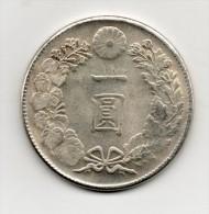 Japan Japon : One YEN 明治二十七年 1894 - Japon