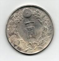Japan Japon : One YEN 明治十六年 1883 - Japon