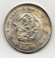 Japan Japon : One YEN 明治三十年 1897 - Japon