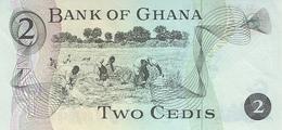 GHANA P. 14c 2 C 1977 UNC - Ghana