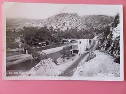Liban - Carte Postale - Le Pont Nahr-el-Khalb - Vue Sur Les 3 Ponts - Pont Ferroviaire - Tacot + Troupeau Brebis - Liban