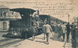 H189 - 34 - MONTPELLIER - Gare De Palavas - Départ D'un Train - Montpellier