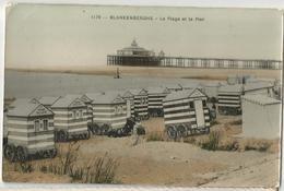 8Eb-391 :1178 -  BLANKENBERGHE - La Plage Et Le Pier   Edition Grand Bazar Anspach - Bruxelles - Blankenberge