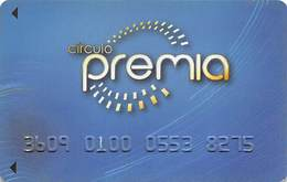Circulo Premia / Royal Yak Casino - Mexico - Slot Card - Casino Cards