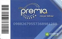 Circulo Premia / Caliente, Mio & Bingo 777 Casinos - Mexico - Slot Card - Casino Cards