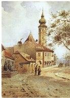 CPM AUTRICHE VIENNE VIENNE - Aquarelle De K. W. Zajicek - Grinzing Vers 1900 - Eglisse Paroissiale - Wien Mitte