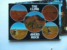 Australië Australia NT The Climb Avers Rock - Australië