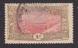 Somali Coast, Scott #111a, Used, Djibouti-Addis Ababa Railroad Bridge, Issued 1915 - Used Stamps