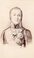 Nicolas Oudinot Duc De Reggio Marechal D'Empire Ancienne Photo CDV 1870 - Photos