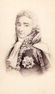 Pierre Augereau Duc De Castiglione Marechal D'Empire Ancienne Photo CDV 1870 - Photographs