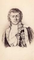 François Joseph Lefebvre Duc De Dantzig Marechal D'Empire Ancienne Photo CDV 1870 - Photos