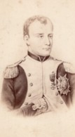 Napoleon Bonaparte Portrait Ancienne Photo CDV 1870 - Photos