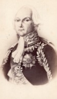 François Christophe De Kellermann Duc De Valmy Marechal D'Empire Ancienne Photo CDV 1870 - Photographs