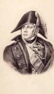 Michel Ney Duc D'Elchingen Prince De La Moskowa Marechal D'Empire Ancienne Photo CDV 1870 - Photographs