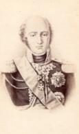 Louis-Nicolas Davout Prince D'Eckmühl Marechal D'Empire Ancienne Photo CDV 1870 - Old (before 1900)