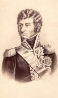 Charles XIV Jean Bernadotte Prince De Ponte-Corvo Marechal D'Empire Ancienne Photo CDV 1870 - Old (before 1900)