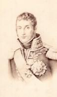 André Masséna Prince D'Essling Et De Rivoli Marechal D'Empire Ancienne Photo CDV 1870 - Photos