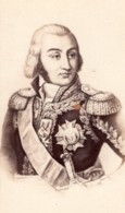 Comte Jean-Baptiste Jourdan Marechal D'Empire Ancienne Photo CDV 1870 - Photographs